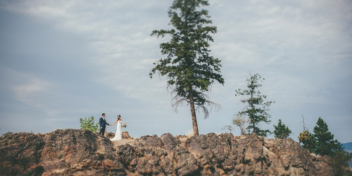 Rock Ledge Wedding in Kelowna