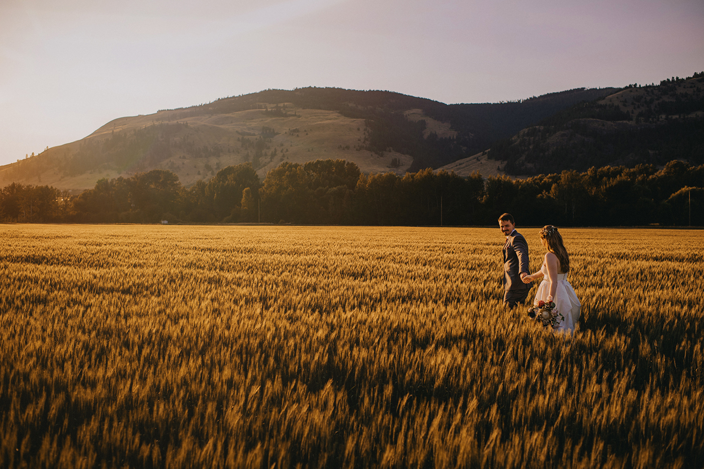 Silver Sage Stables Wedding Photo