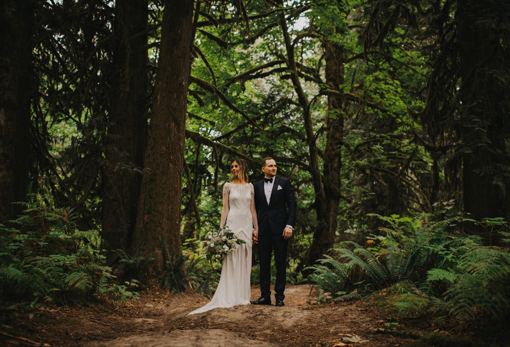 Squamish Bride and Groom