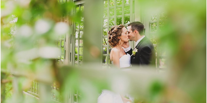 Kyle & Christy | Intimate  Elysium Garden  Wedding