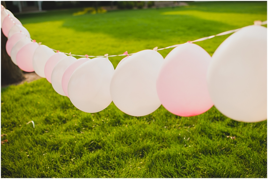 Pink Party Balloons Kelowna Bridal Shower