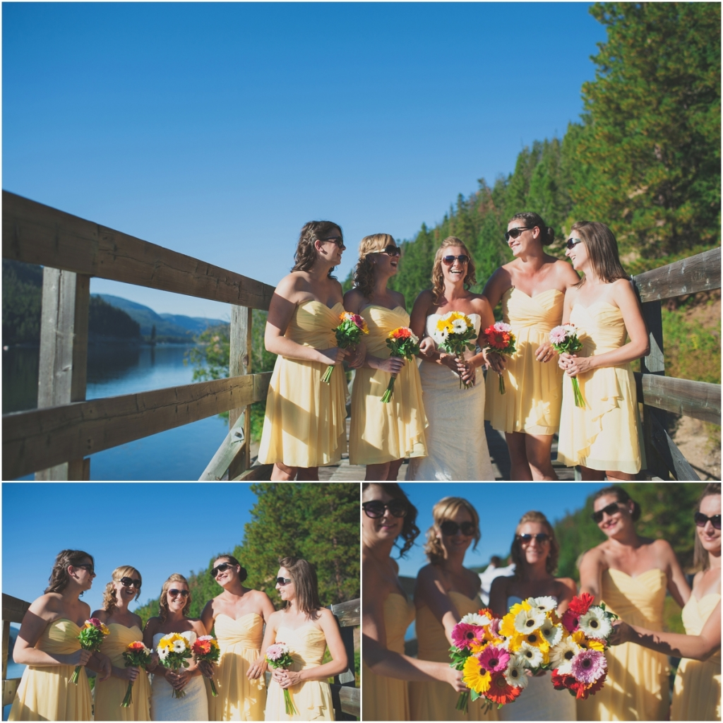 Beautiful Brides and Bridesmaids