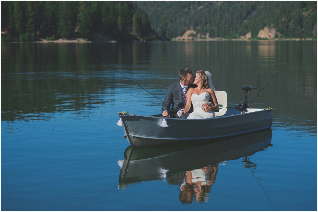 Beautiful fishing boat Wedding Photo