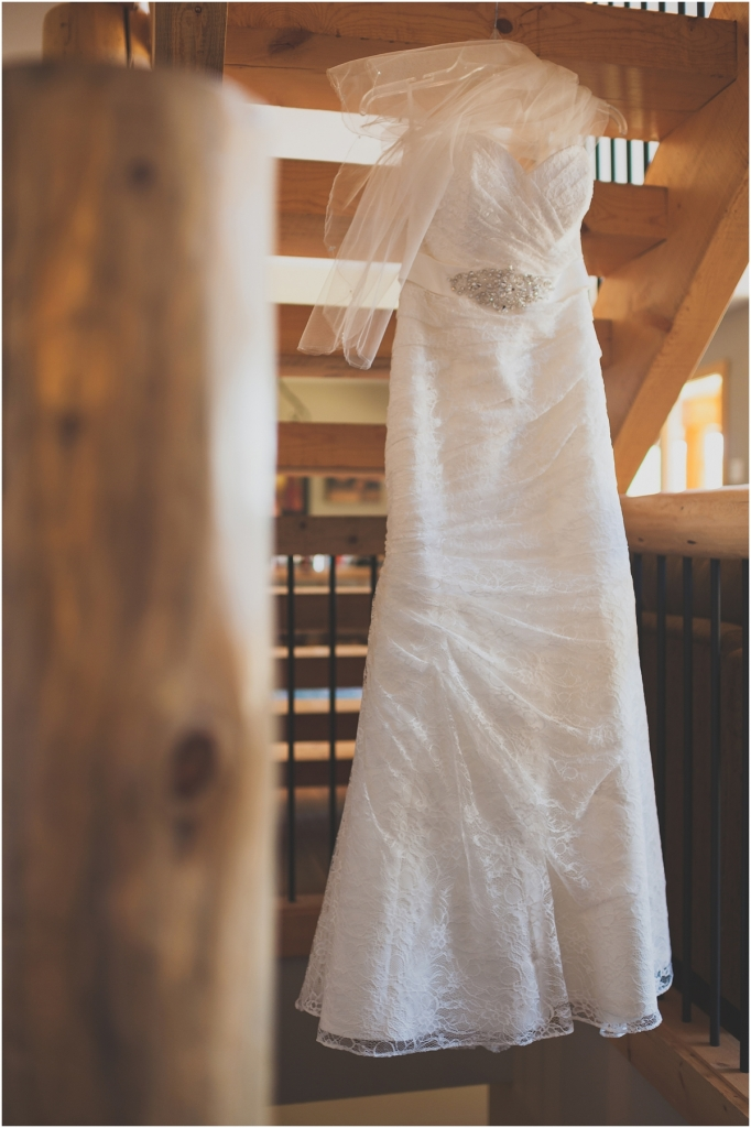 Beautiful Rustic Wedding Dress