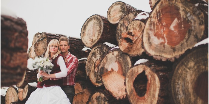 Markus & Lisa | Styled Okanagan Winter Wedding