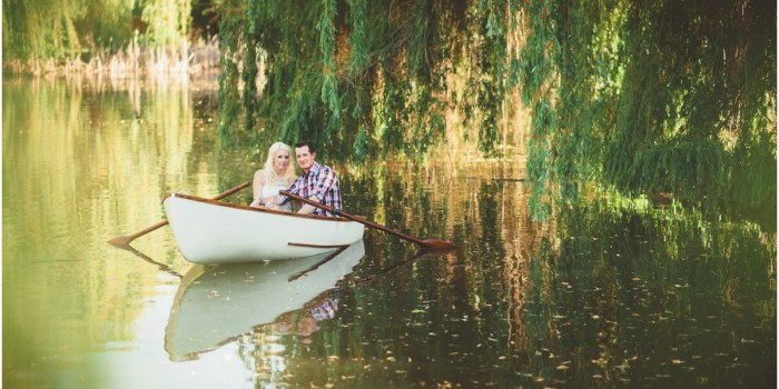 Dean & Shelley | Vintage Rowboat Engagement