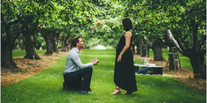 Surprise Proposal | Okanagan Cherry Orchard