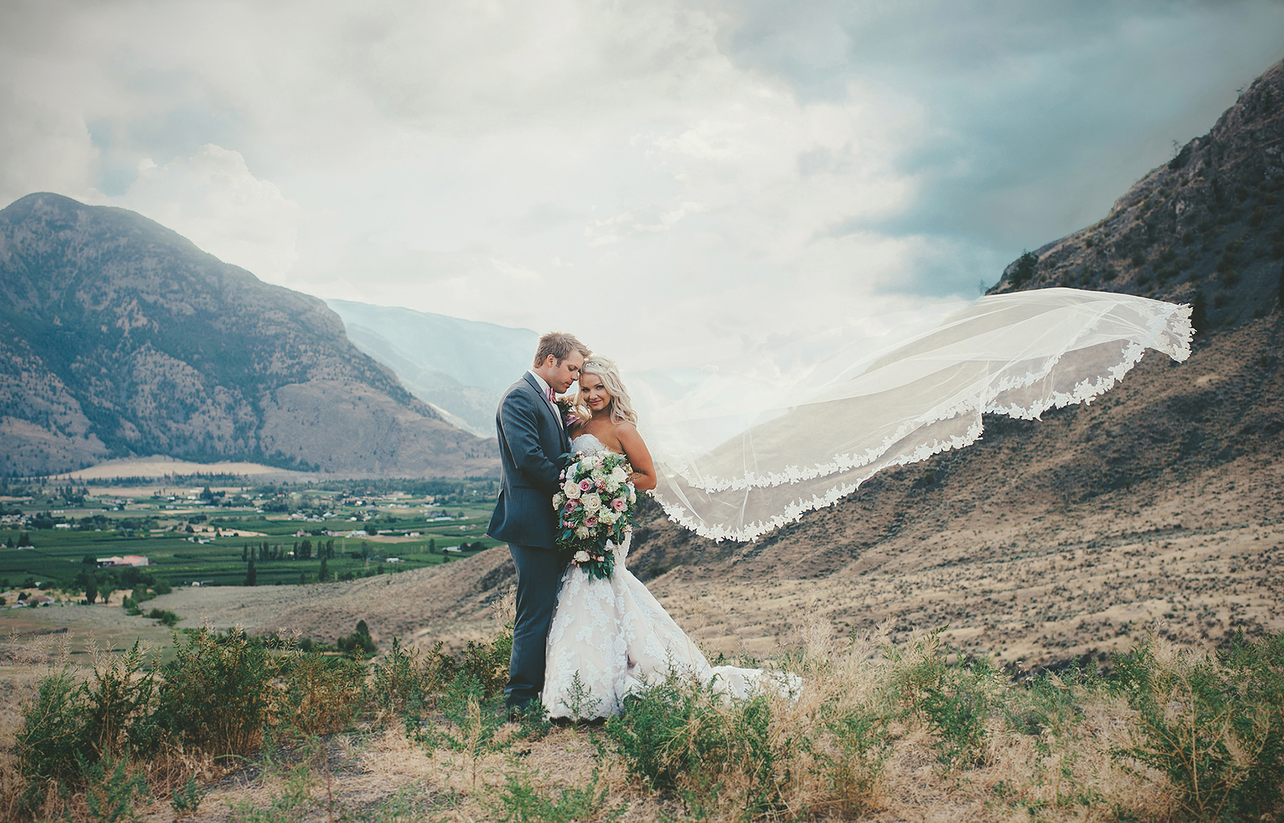 Mountain Valley Wedding in British Columbia