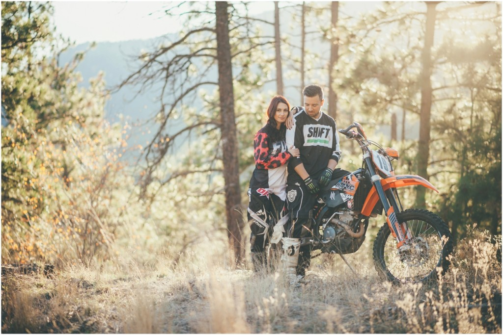 Dirt Bike  Couple Photoshoot