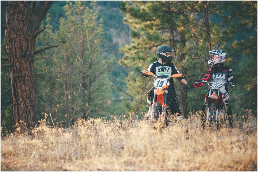 Dirtbike Couple Photography