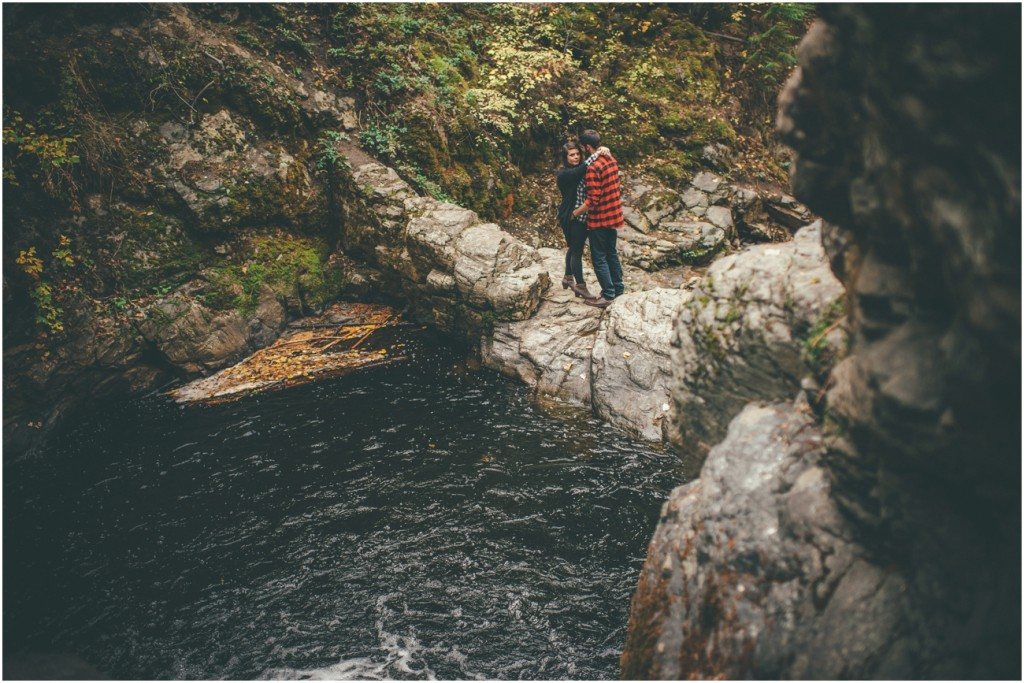 Kelowna Waterfall Engagement