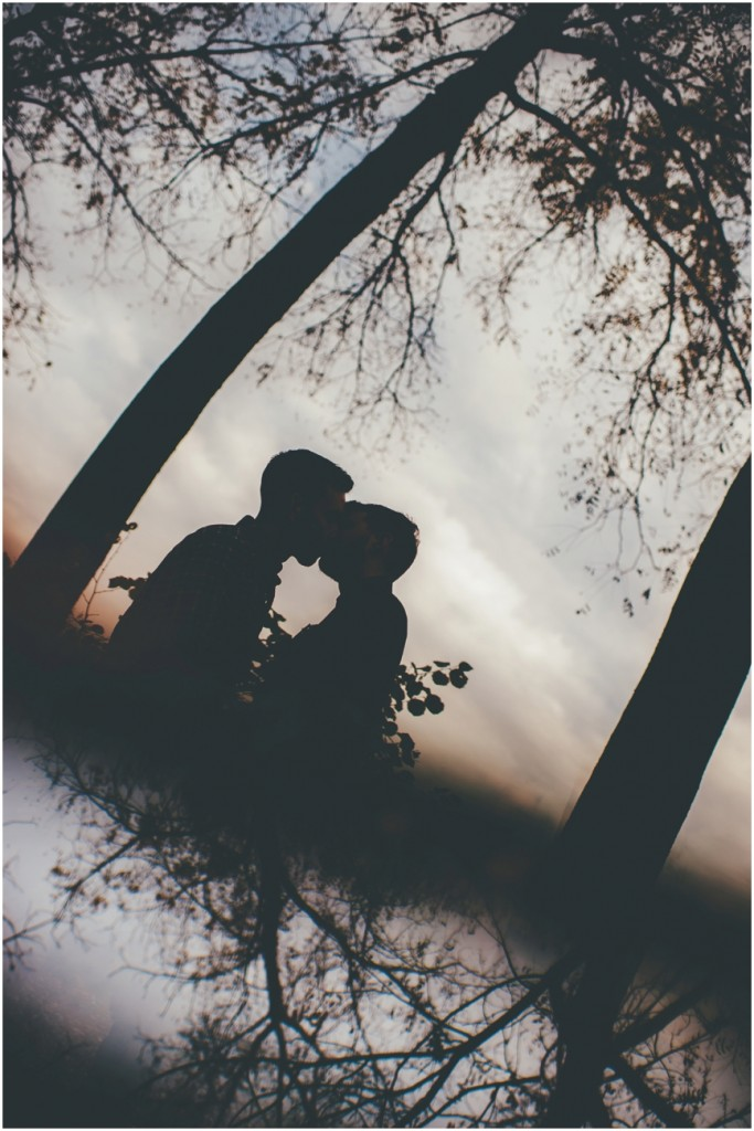 Prism Sillouette engagement idea