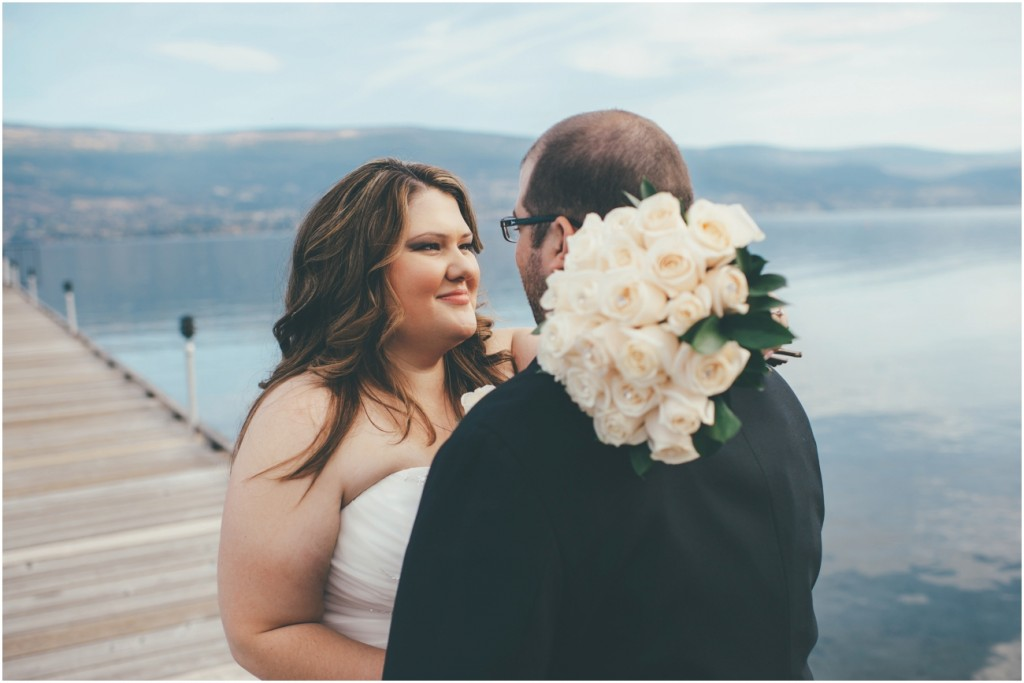Okanagan Lakeside Fall Wedding Day