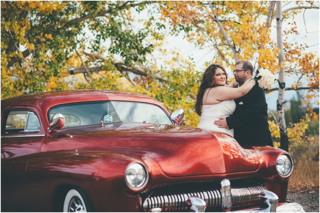 1950's Classic Mercury for wedding photos