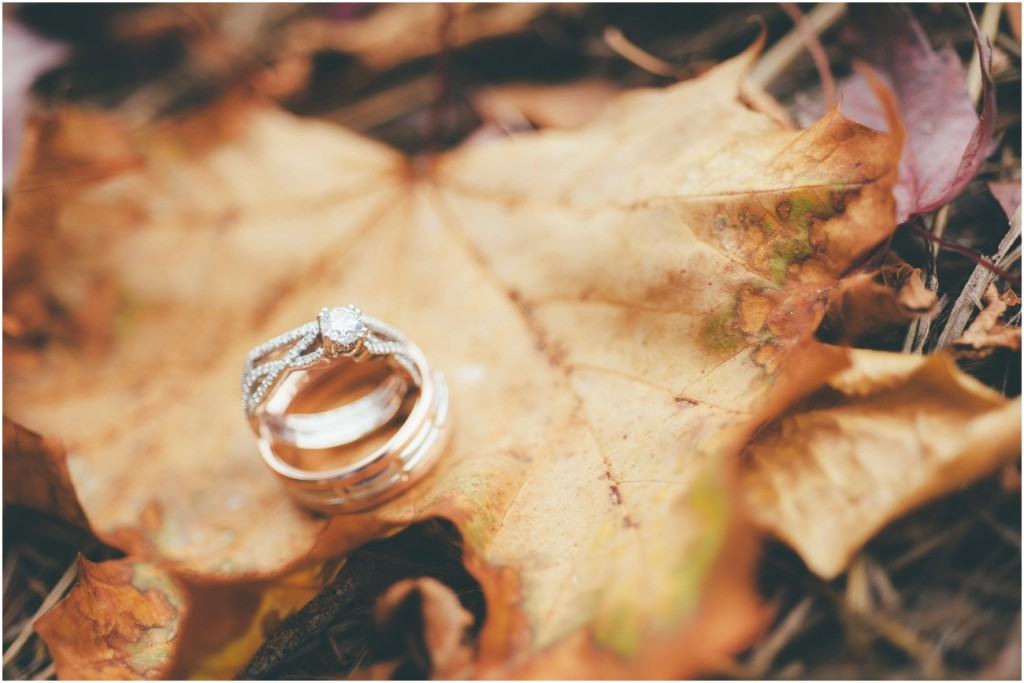 Fall Wedding Rings Idea