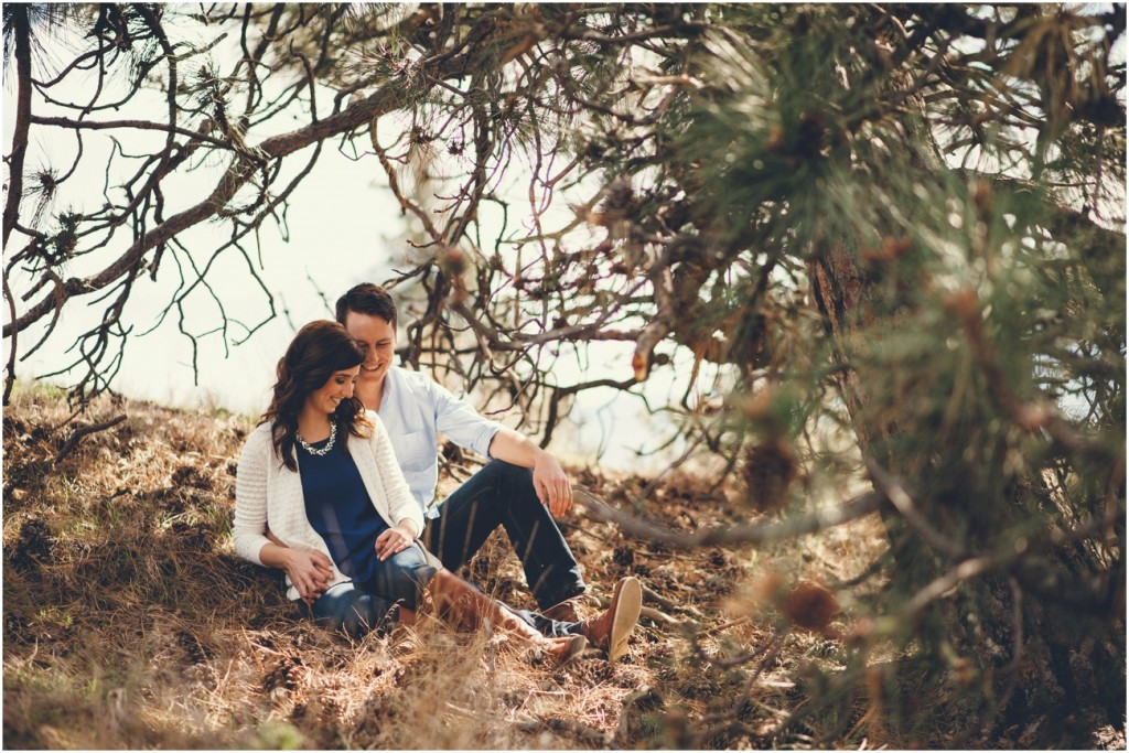 Knox Mountain Engagement photo