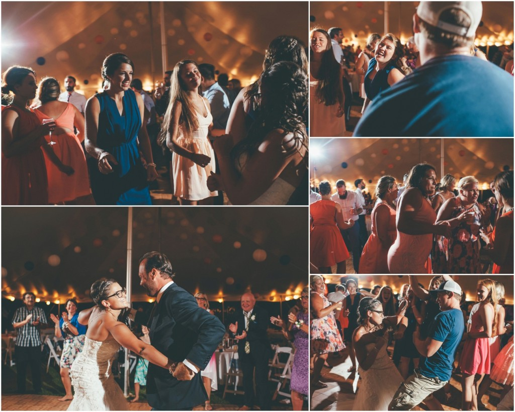 Dance party wedding Photography