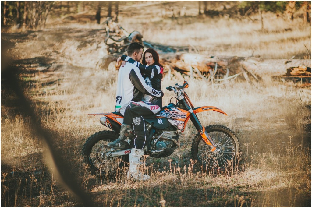 Dirtbike Engagement Photography