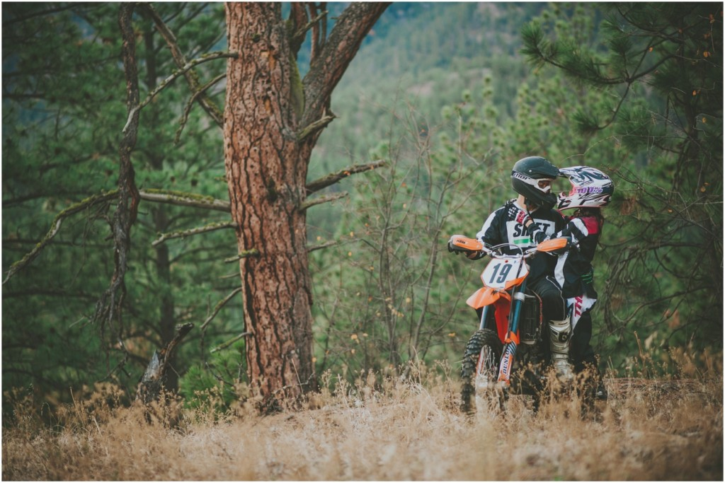 Dirtbike Engagement session