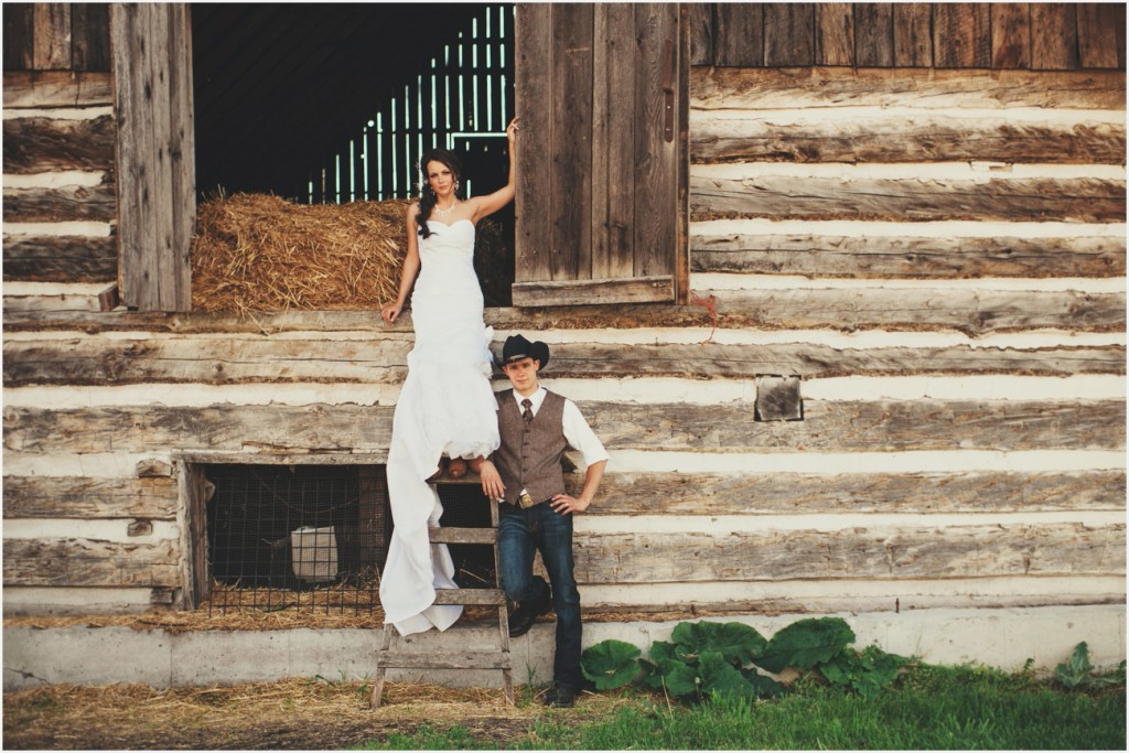 Country Wedding in Vernon BC