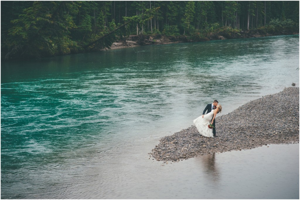 Mountain Wedding in Canmore Alberta