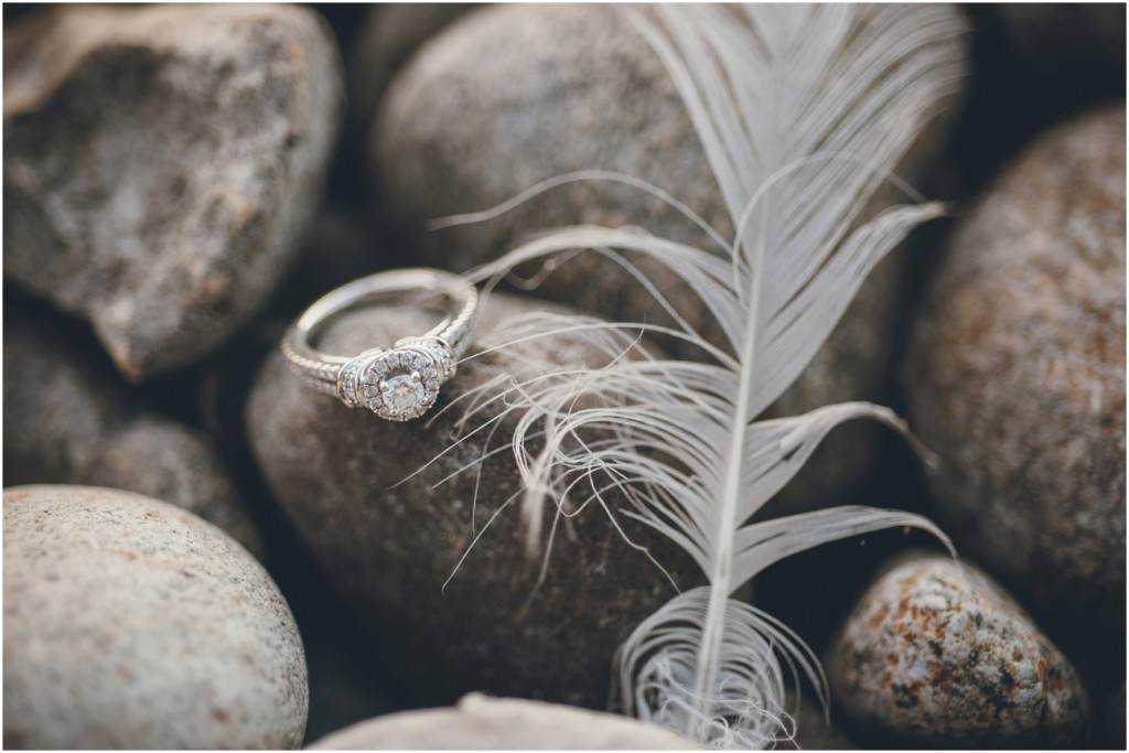 Unique wedding ring photo