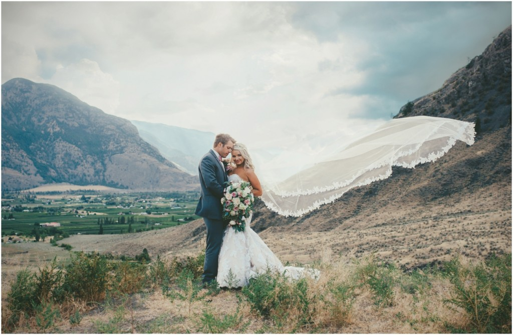 Beautiful British Columbia Mountain Wedding