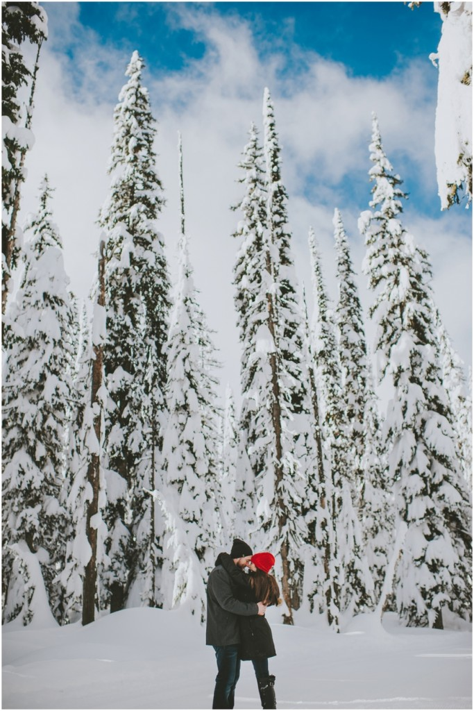 Couple at Big White Ski Resort