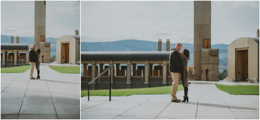 Posing Idea from Kelowna Esession at Mission Hill