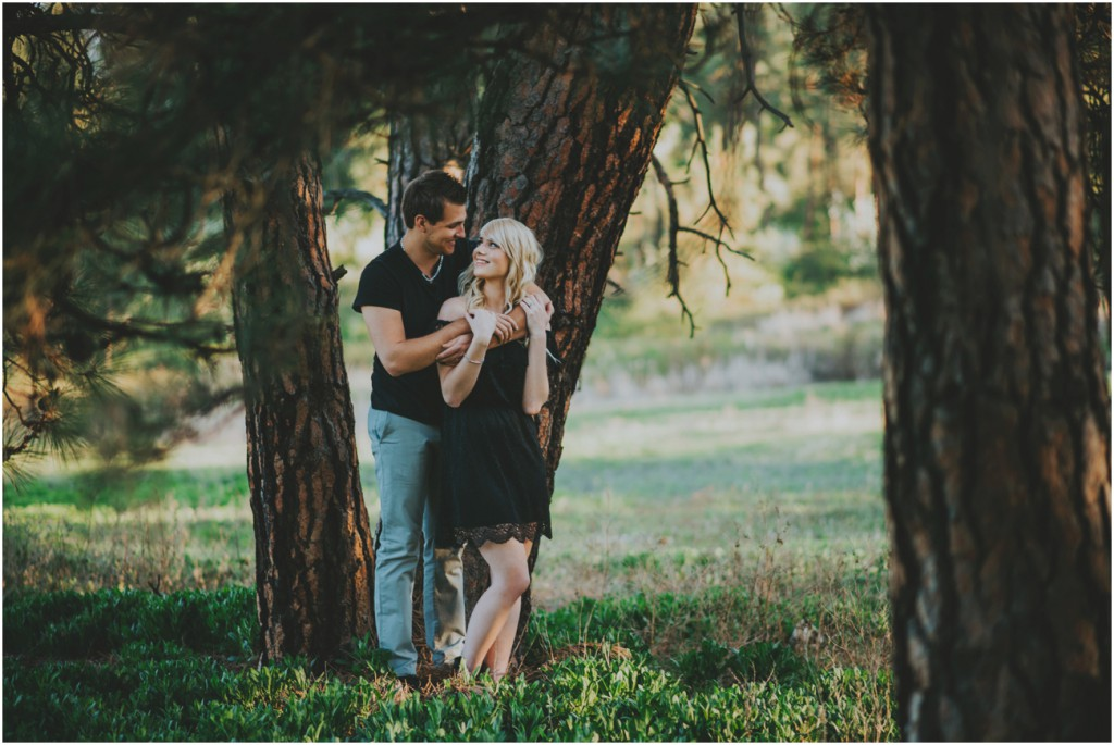 Cute couple posing ideas in Kelowna