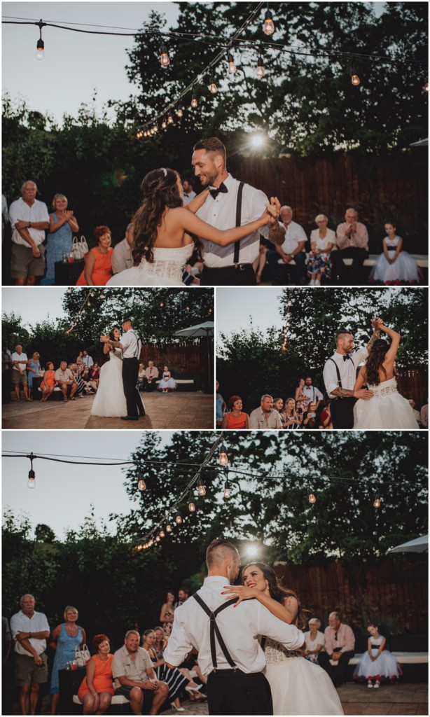 First Dance at Durali Villa