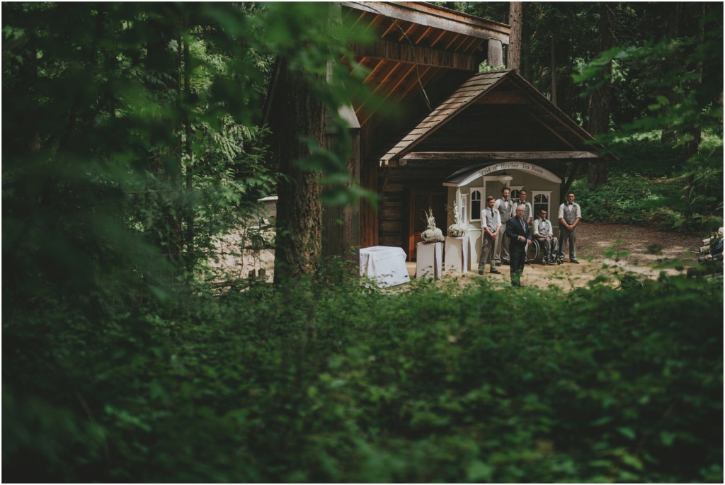 Heritage village Wedding in Salmon Arm