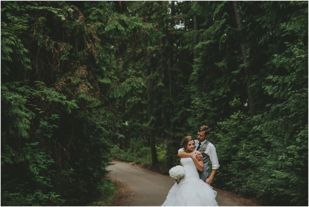 Salmon Arm Wedding Portrait