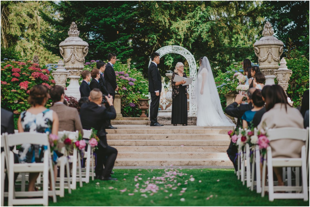 Ceremony at Thornewood Castle