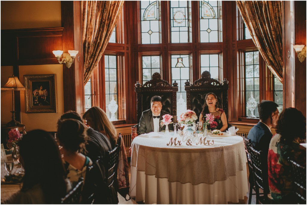 Head Table at Castle