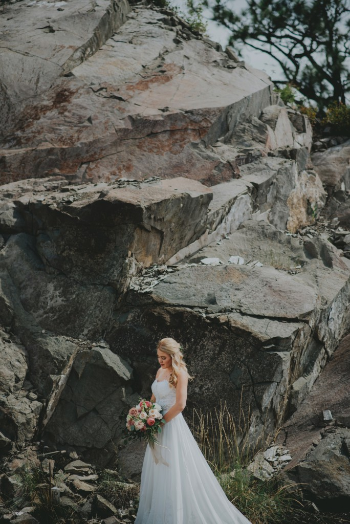 Bridal Portraits in Wilden Kelowna