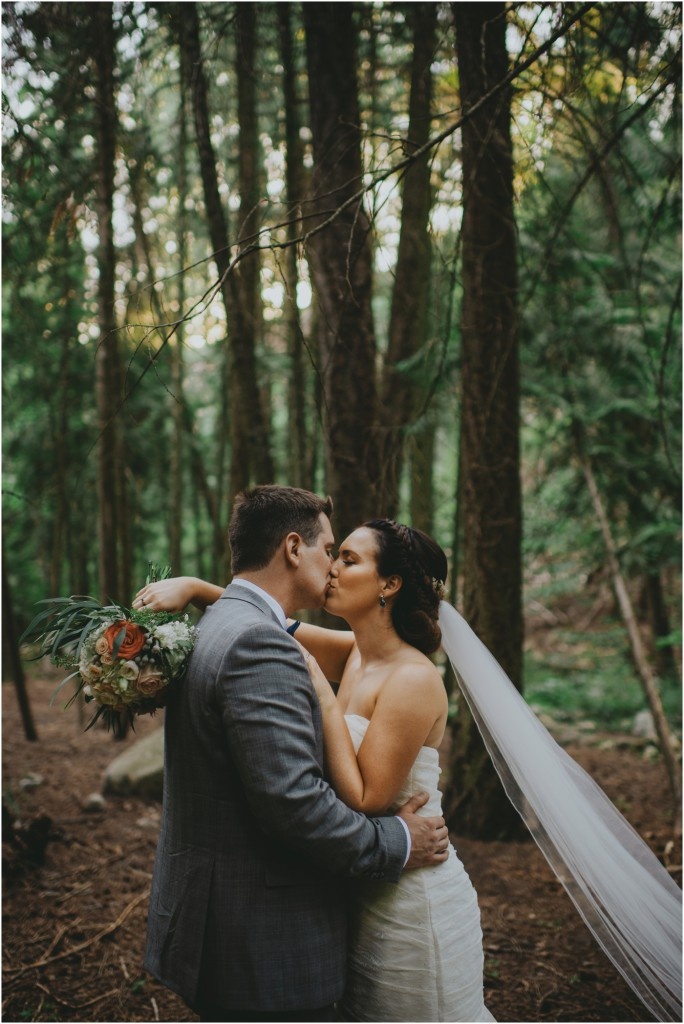 Forest Wedding in Kelowna