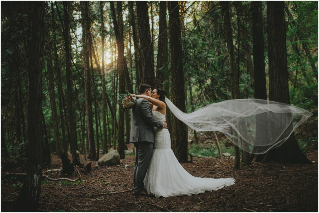 Lovely Forest Wedding Photography