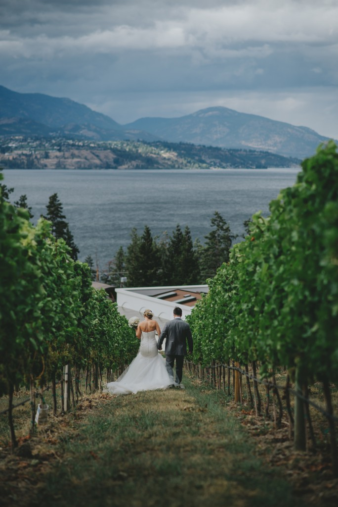 Kelowna Wedding Photography at Cedar Creek Winery