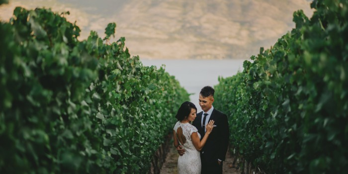 Quails Gate Wedding by Kelowna Wedding Photographer