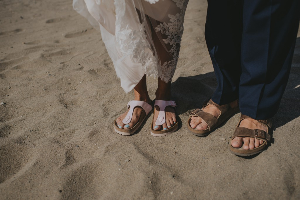 Birkenstock wedding shoes