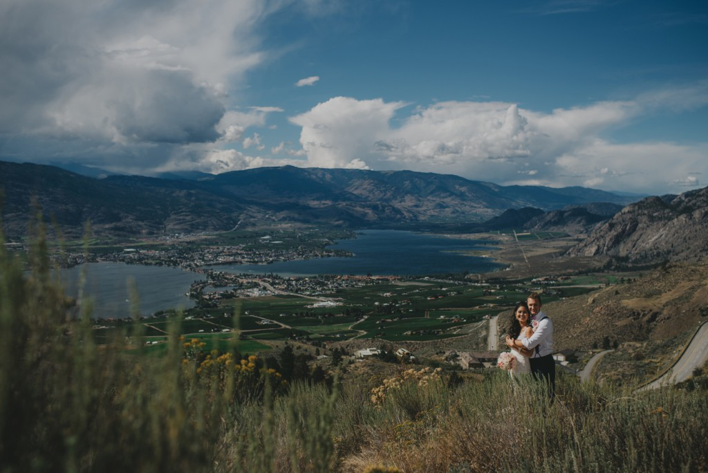 BC mountain wedding in Osoyoos