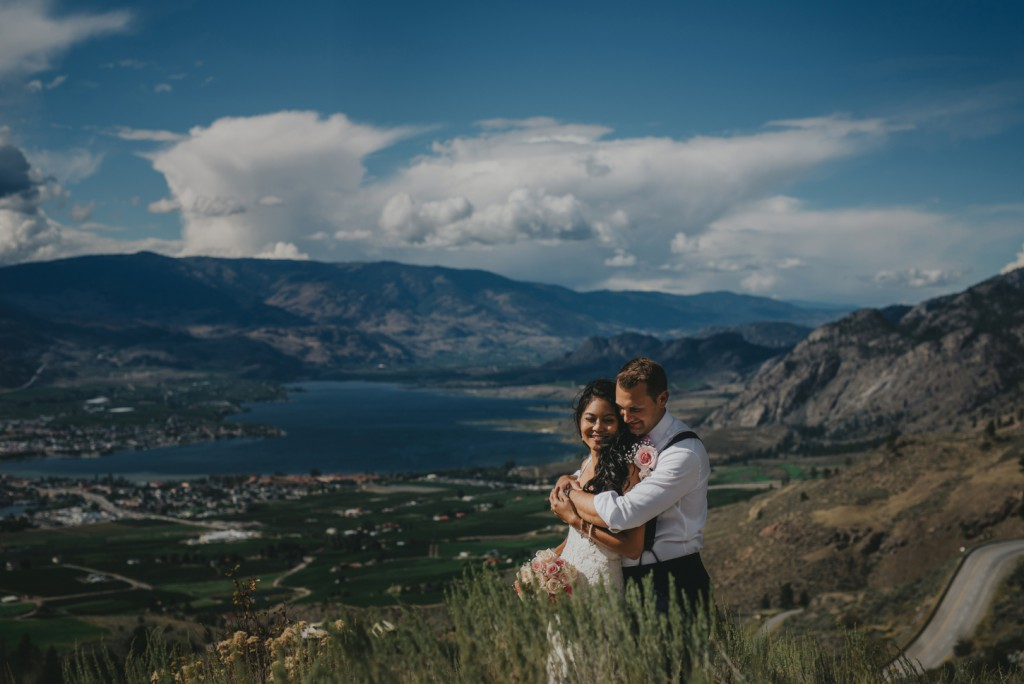 Osoyoos Bride and Groom