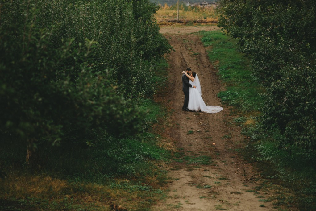 Lake Country Orchard Wedding
