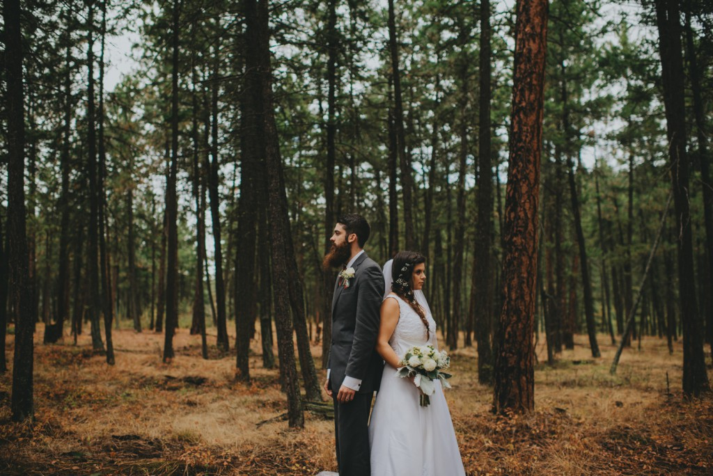 Lake Country Forest Wedding