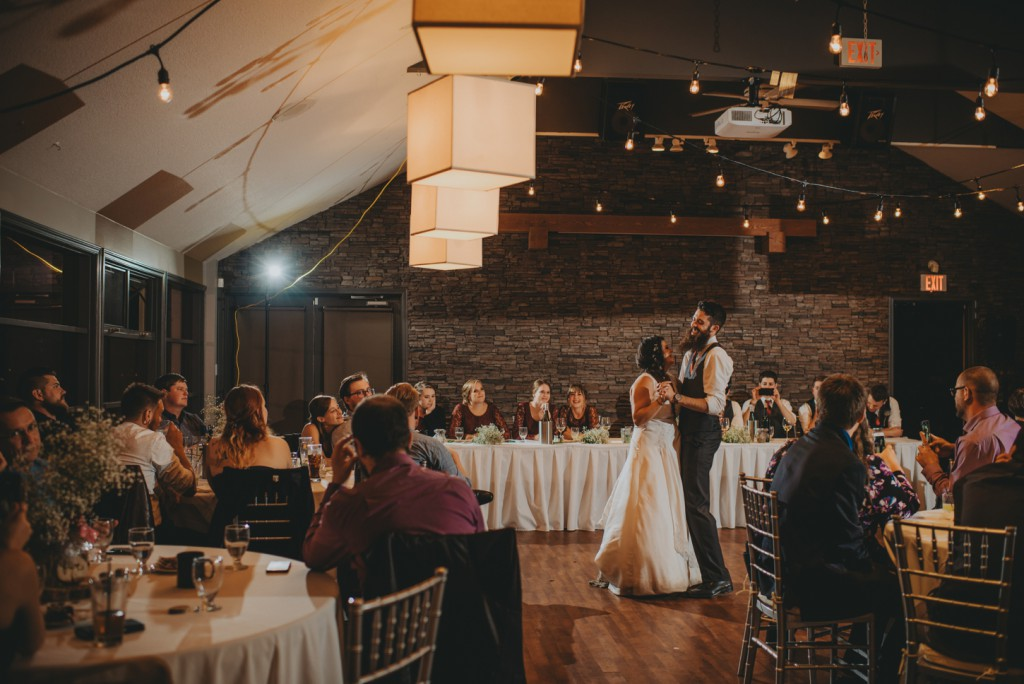 First Dance at Sunset ranch golf course