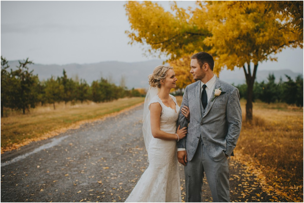 Fall Wedding in Vernon BC