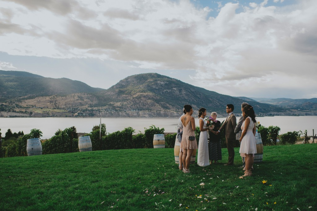 Small Intimate Wedding in Penticton