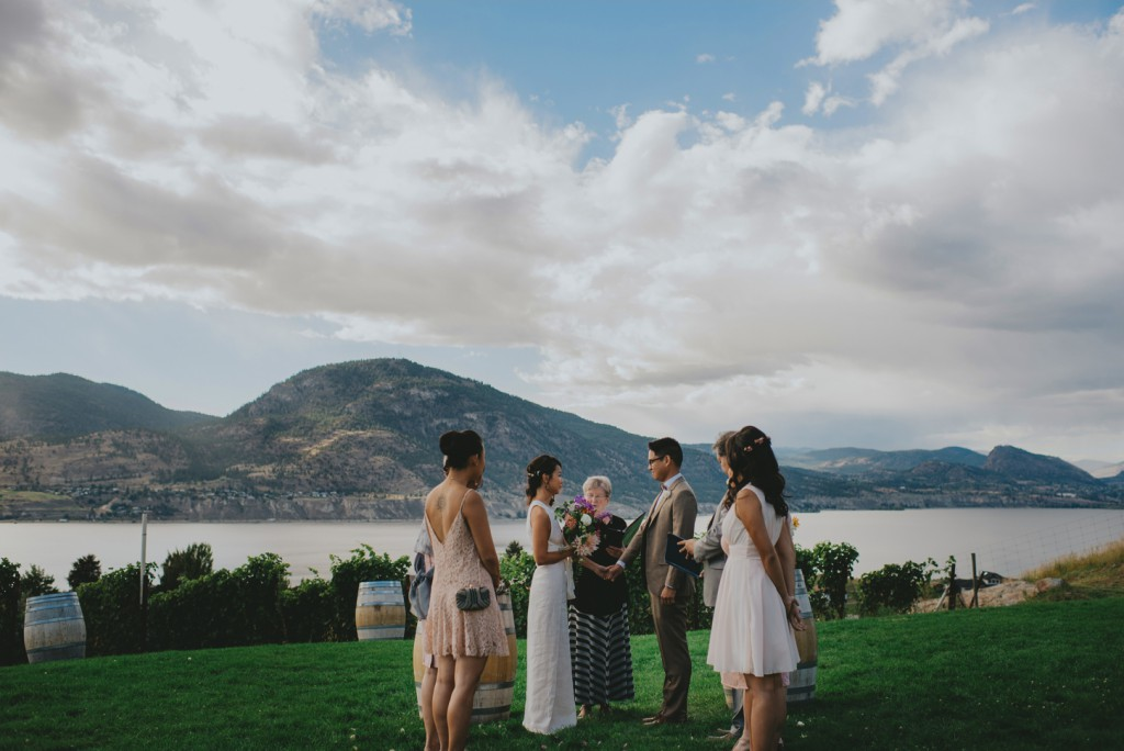 Intimate Wedding day in British Columbia