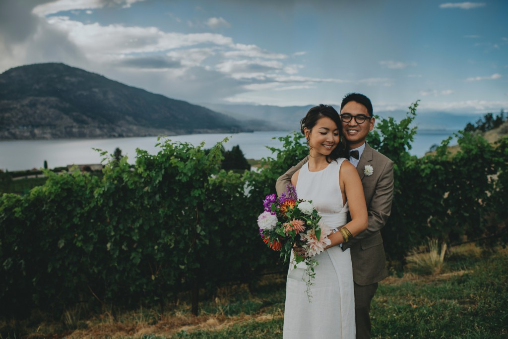 Stunning Winery wedding in Penticton